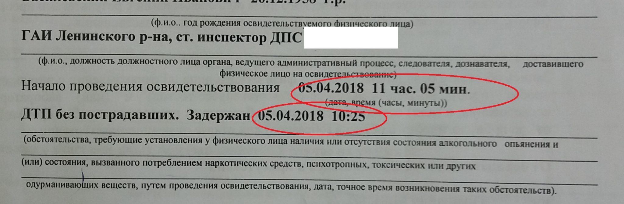 акт освидетельствования по статье 18.16 КоАП Республики Беларусь, адвокат по статье 18.16 КоАП в РБ, освидетельствование на опьянение