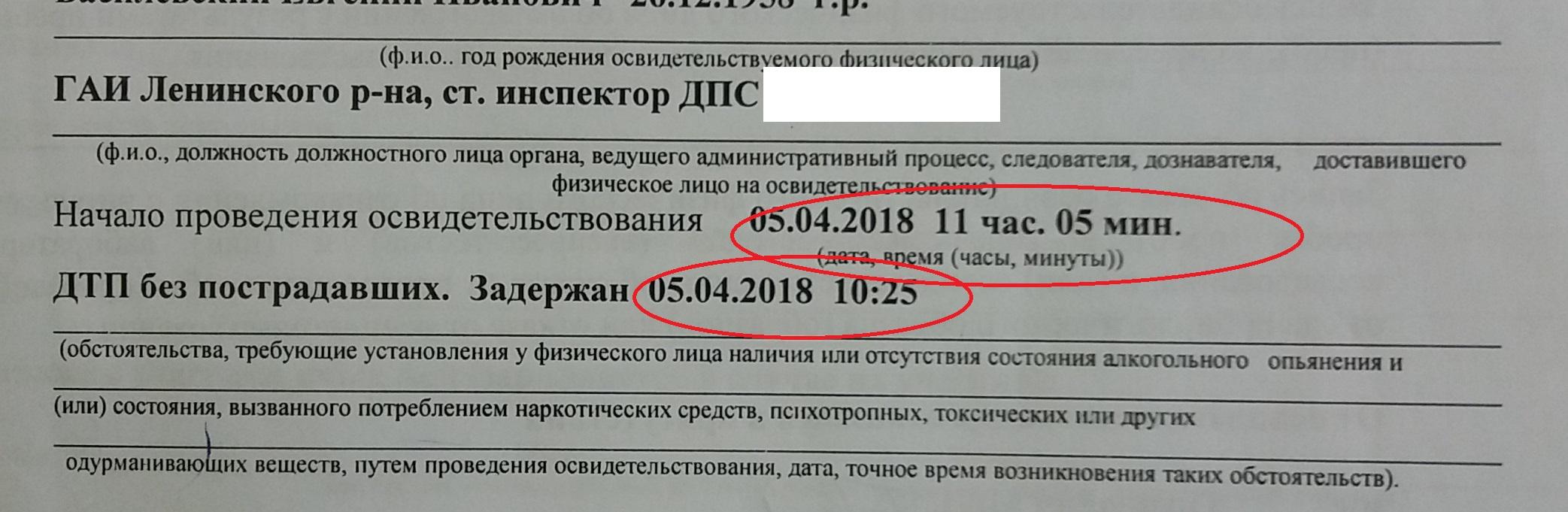 акт освидетельствования по статье 18.16 КоАП (18.15 КоАП в новой редакции) Республики Беларусь, адвокат по статье 18.15 КоАП в РБ, освидетельствование на опьянение